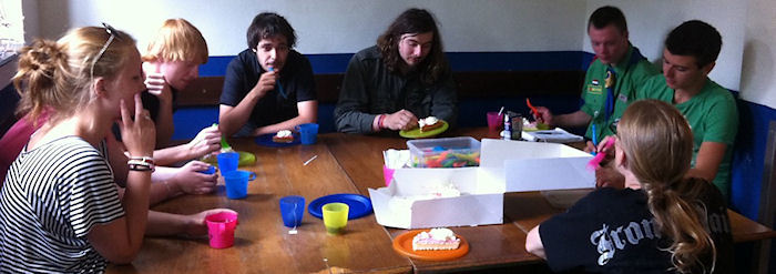 2011-07 kamp leiding taart